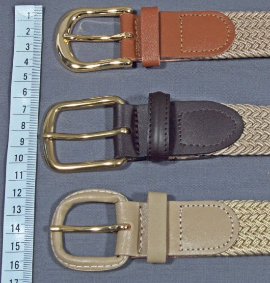 brass buckle from Walmart, brass and leather covered buckles from Strait City Trading Company