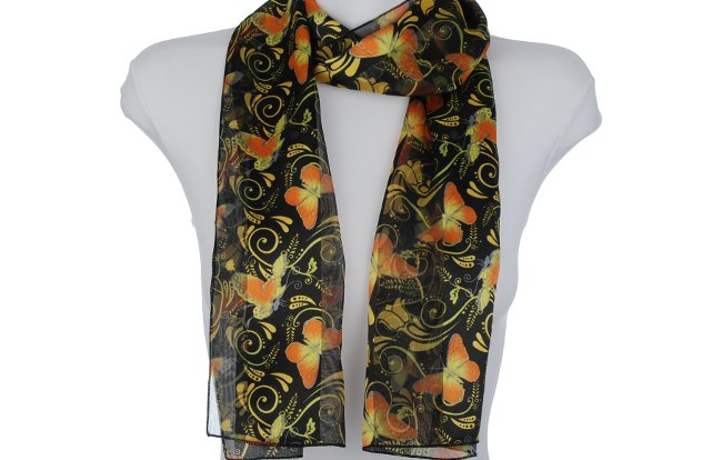 Butterfly Scarf 1