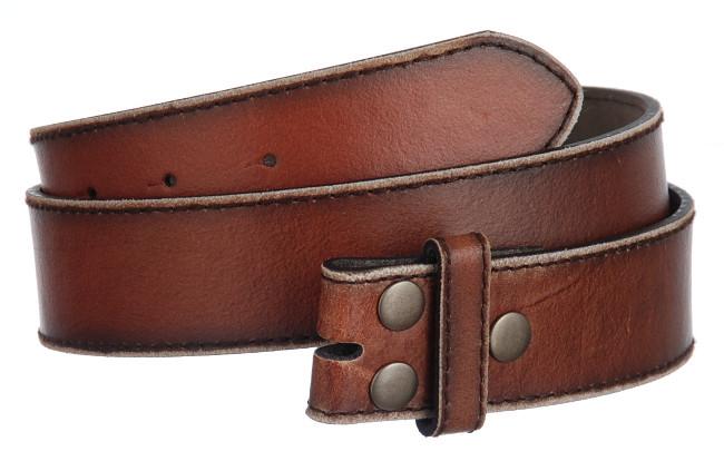strait city image distressed leather belt brown rr57
