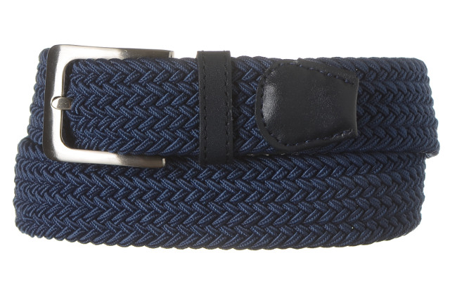Extra Wide Belt Navy Blue
