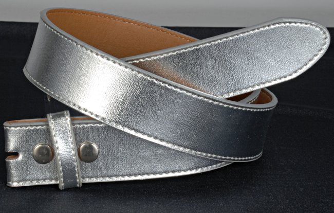 Strait City image: buckle belt strap silver WN33